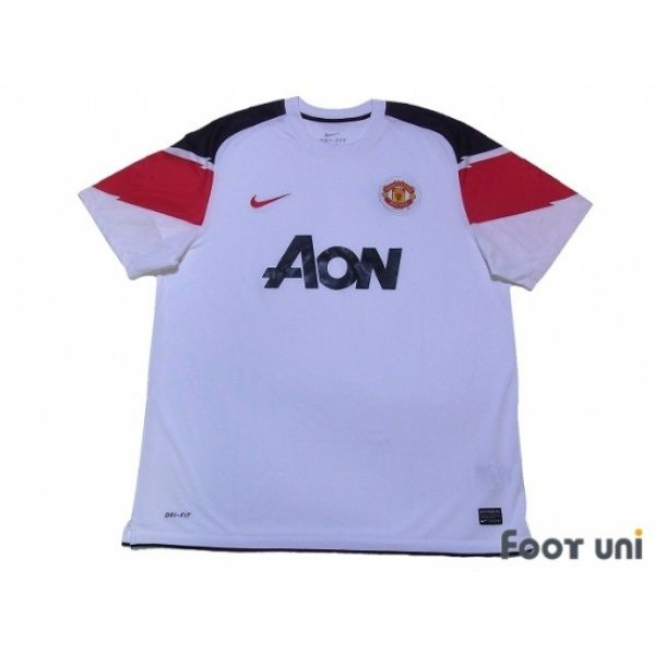 newest collection 5e6ba f16c8 Photo1: Manchester United 2010-2011 Away Shirt nike AON ...