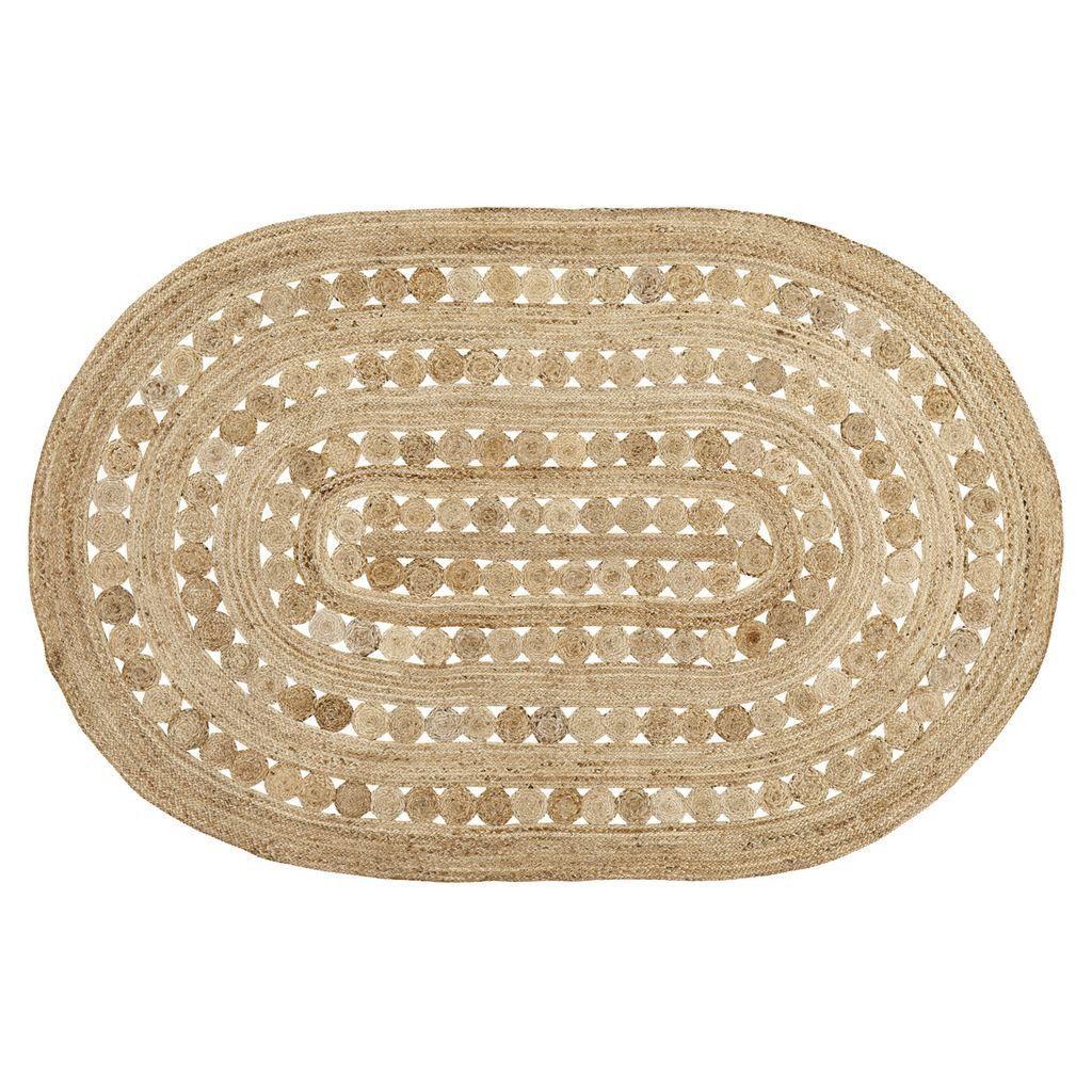 Celeste oval braided rug 6x9 jute rug oval braided