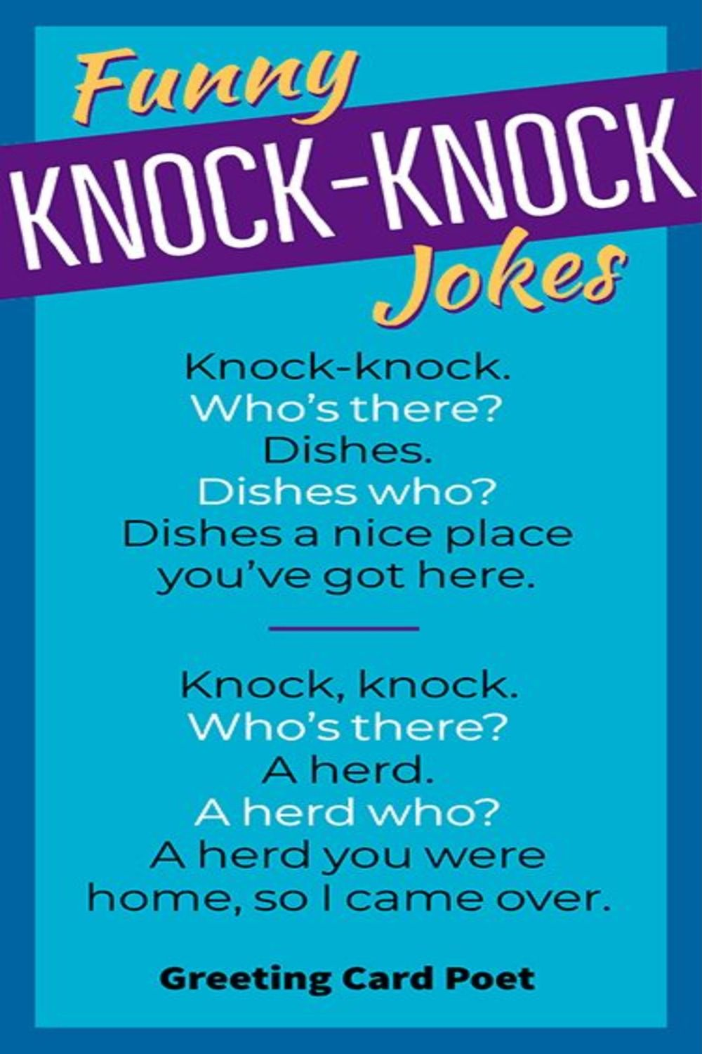 Things Knock, Knock Jokes for Kids and Adults Funny Knock