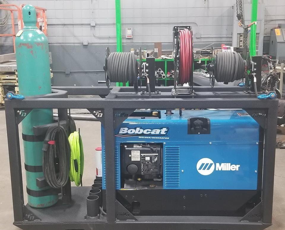 Custom Mobile Welder Rig for Miller Bobcat in 2020