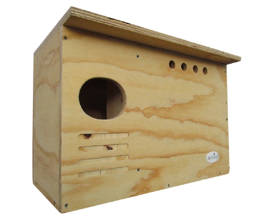 Barn Owl Nesting Box Large House Crafted in USA.