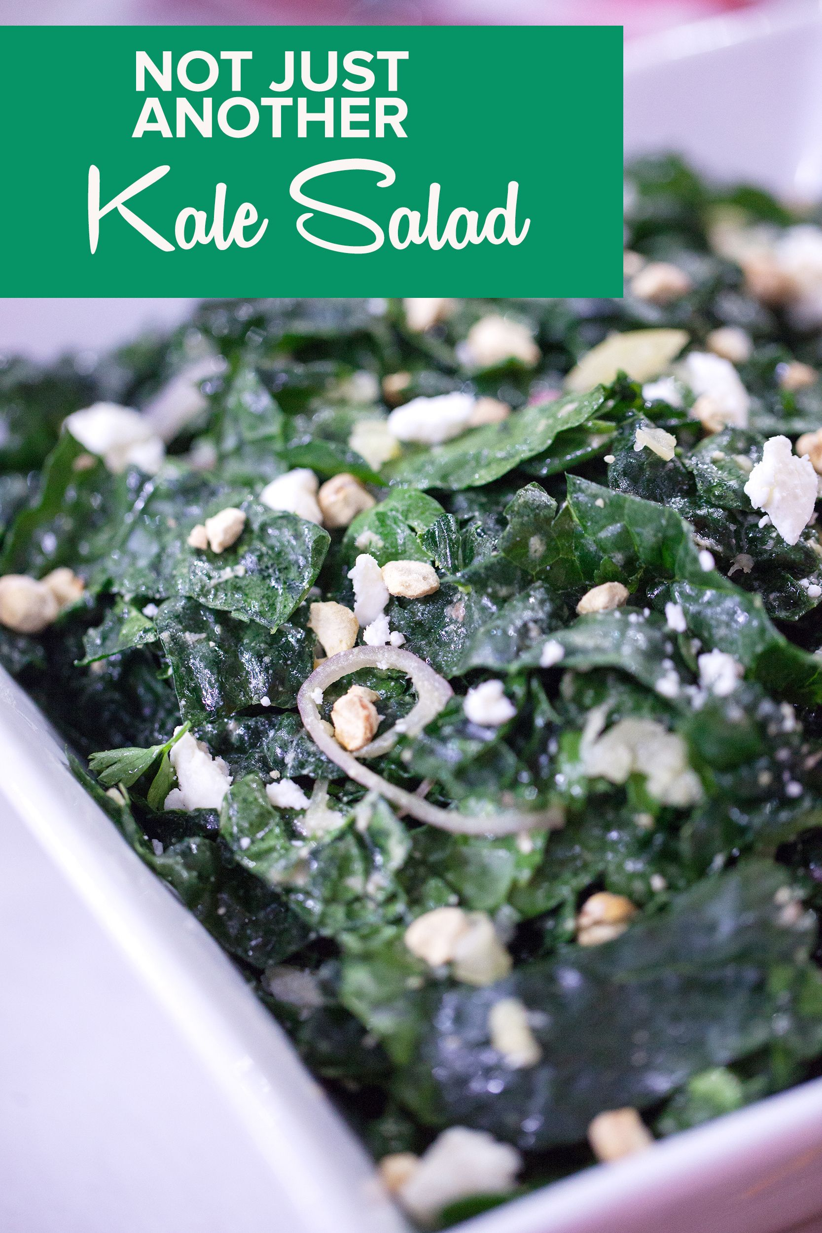 This Is Not Just Another Kale Salad Says Alton Brown He S Right Recipe Kale Salad Delicious Healthy Recipes Recipes