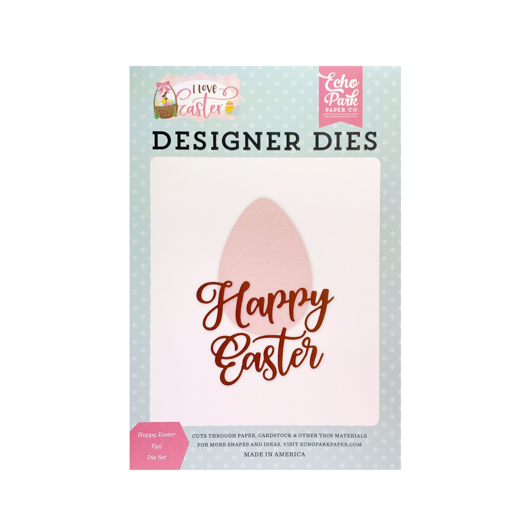 EGG BUNNY TRIO DIE-Impression Obsession Stamps -Spring//Easter DIE277-E