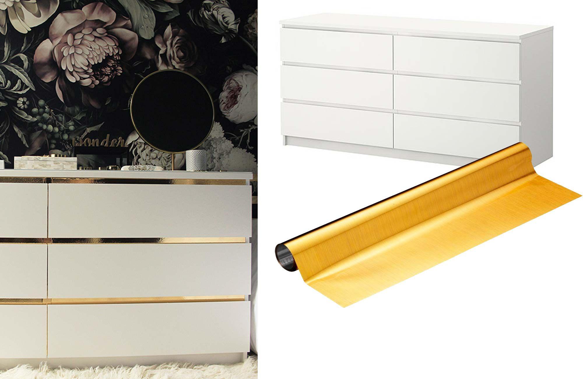 Ikea Malm Credenza : Glamma upp din malm byrå med detta enkla ikea hack