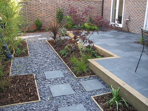 outdoor pathways garden pathway design ideas gravel garden pathway design ideas - Garden Design Gravel Patio