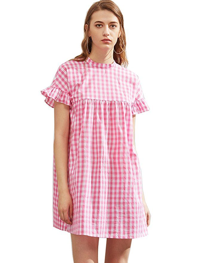 4d29d28dcc Pin by Shein Amazon on Cute Summer Dresses | Dresses, Smock dress ...