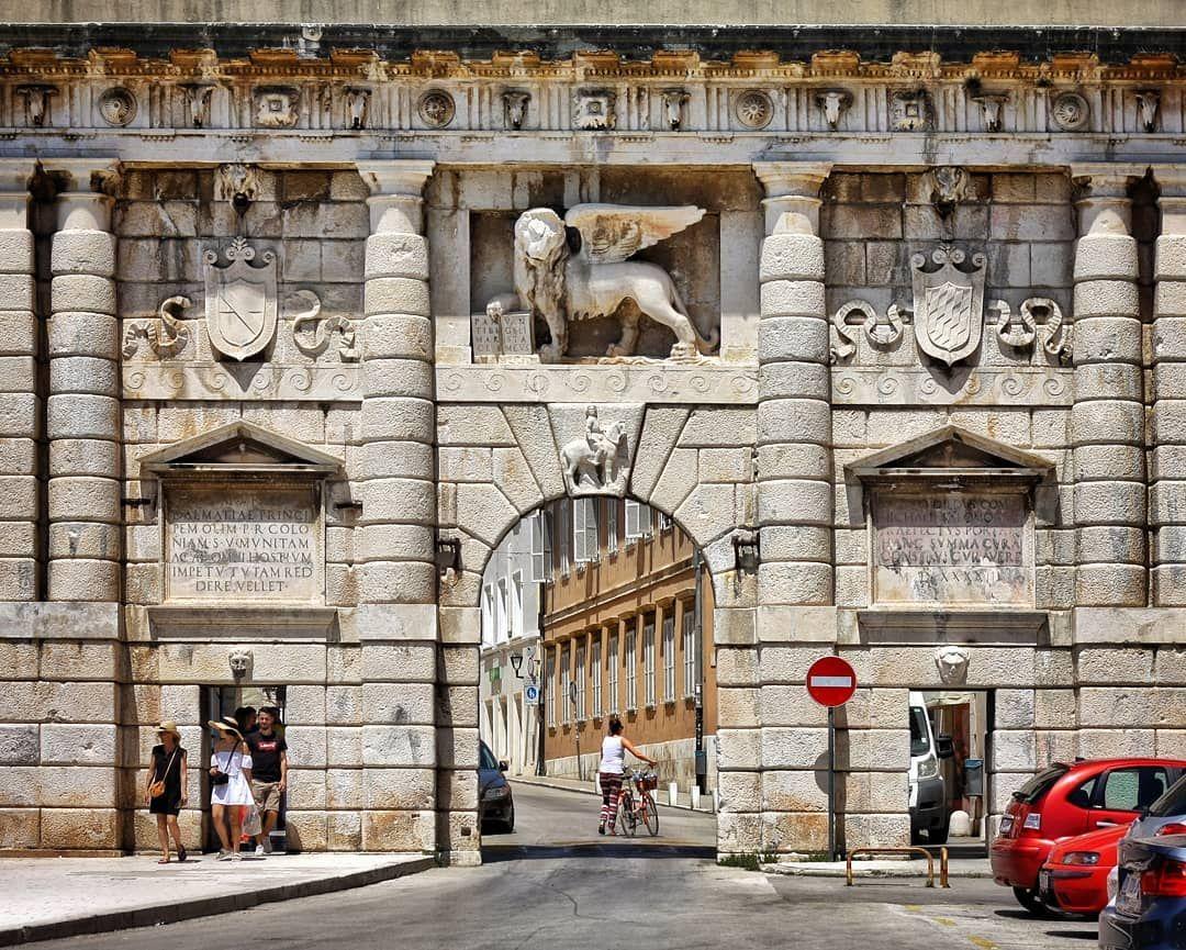 Impressive Land Gate Kopnena Vrata Entrance To The City Of Zadar Part 2 Nbsp Nbsp Zadar Nbsp Nbsp Nbsp Nbsp Landgate Nbs Zadar Gate Entrance