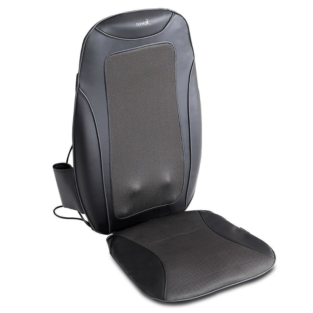 Portable 3d Shiatsu Heated Vibration Massage Chair Seat Cushion In Gift Bix Ebay Chair Seat Cushion Massage Chair Massage Cushions