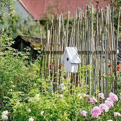 Sichtschutz Oder Unkonventionelle Rankhilfe Diy Basteln Garden