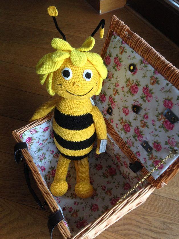 Häkelanleitungen Biene Maja Amigurumi Häkelanleitung Anleitung