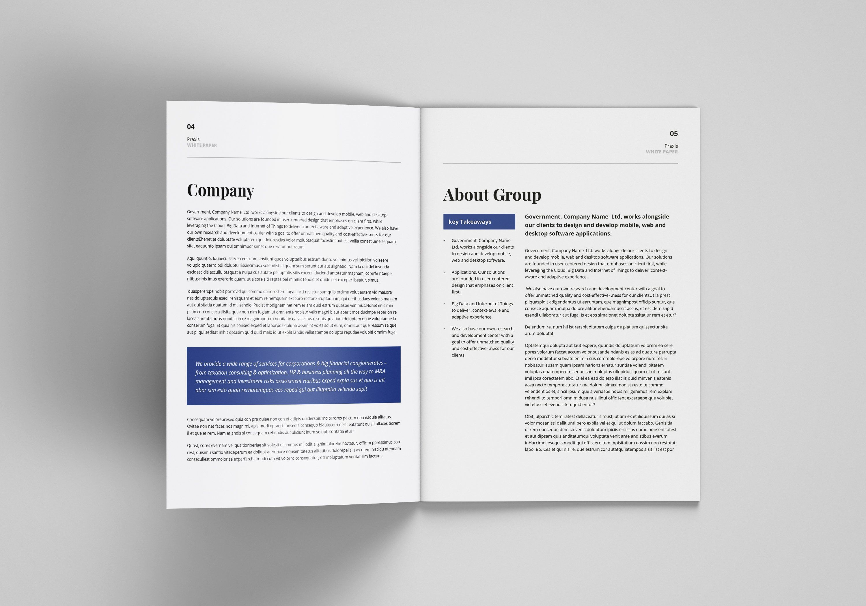 White Paper Template Word Paper Template Template Word Graphic Design Layouts