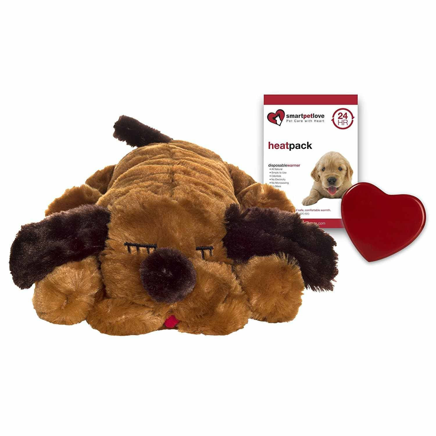 Smart Pet Love Snuggle Puppy Behavioral Aid Toy, Brown