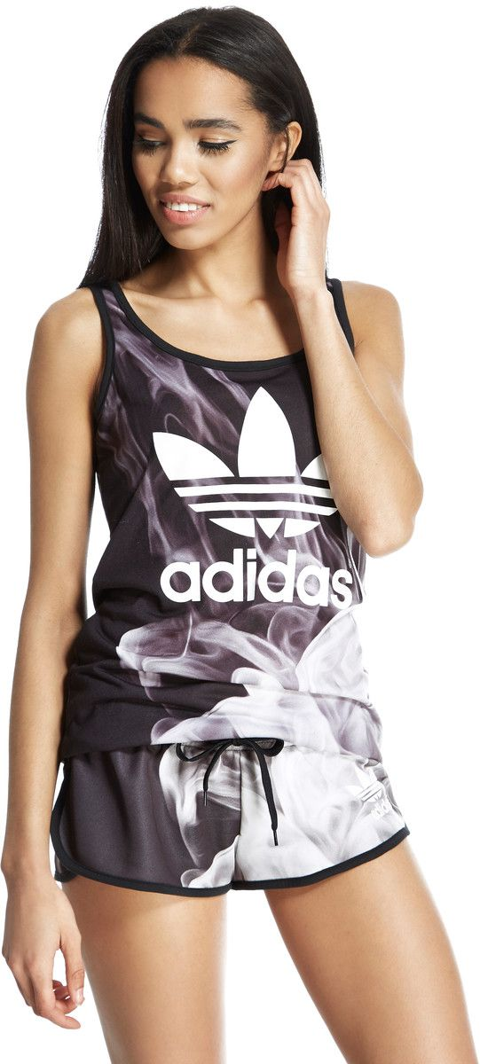 1299eae9fd Adidas Originals join forces with Rita Ora to present this women s Smoke  Layer Vest. Combining