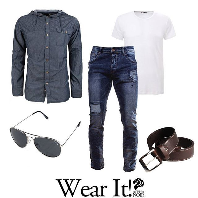 ¿Qué os parece este #Look para un fin de semana de Relax? Hazte con él en nuestra web o en nuestra tienda en #Facebook 💪💪💪 www.alphanoir.es Wear It! #Moda #Casual #Camisa #Jeans #menswear #fashion #mensfashion #style #mensstyle #menstyle #streetwear #streetstyle #men #instafashion #streetfashion #menfashion #clothing #menwithstyle #outfit #mens #stylish #menwithclass #lifestyle #fashionformen #instastyle #modamasculina