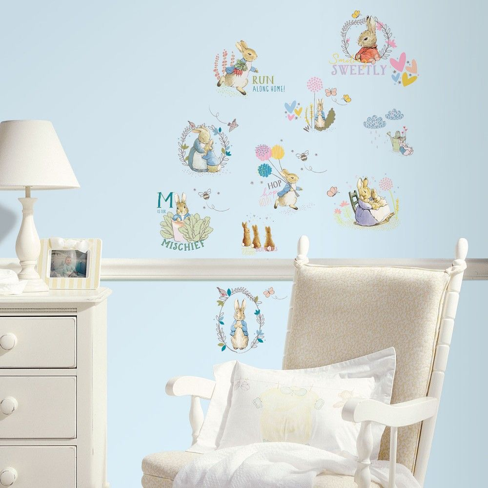 Amazing Peter Rabbit Wall Stickers | JoJo Maman Bebe Part 9