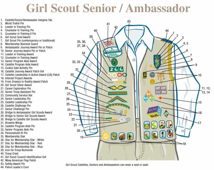 cadettes amp senior girl scouts of america tips