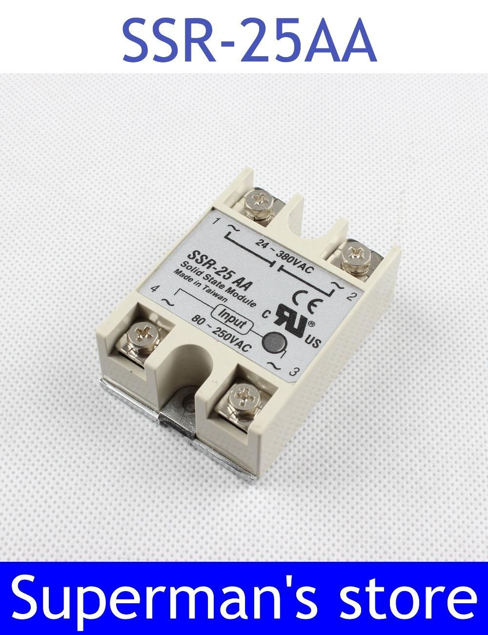 Visit To Buy 1pcs Free Shipping Solid State Relay Ssr 25aa 25a Taiwan Actually
