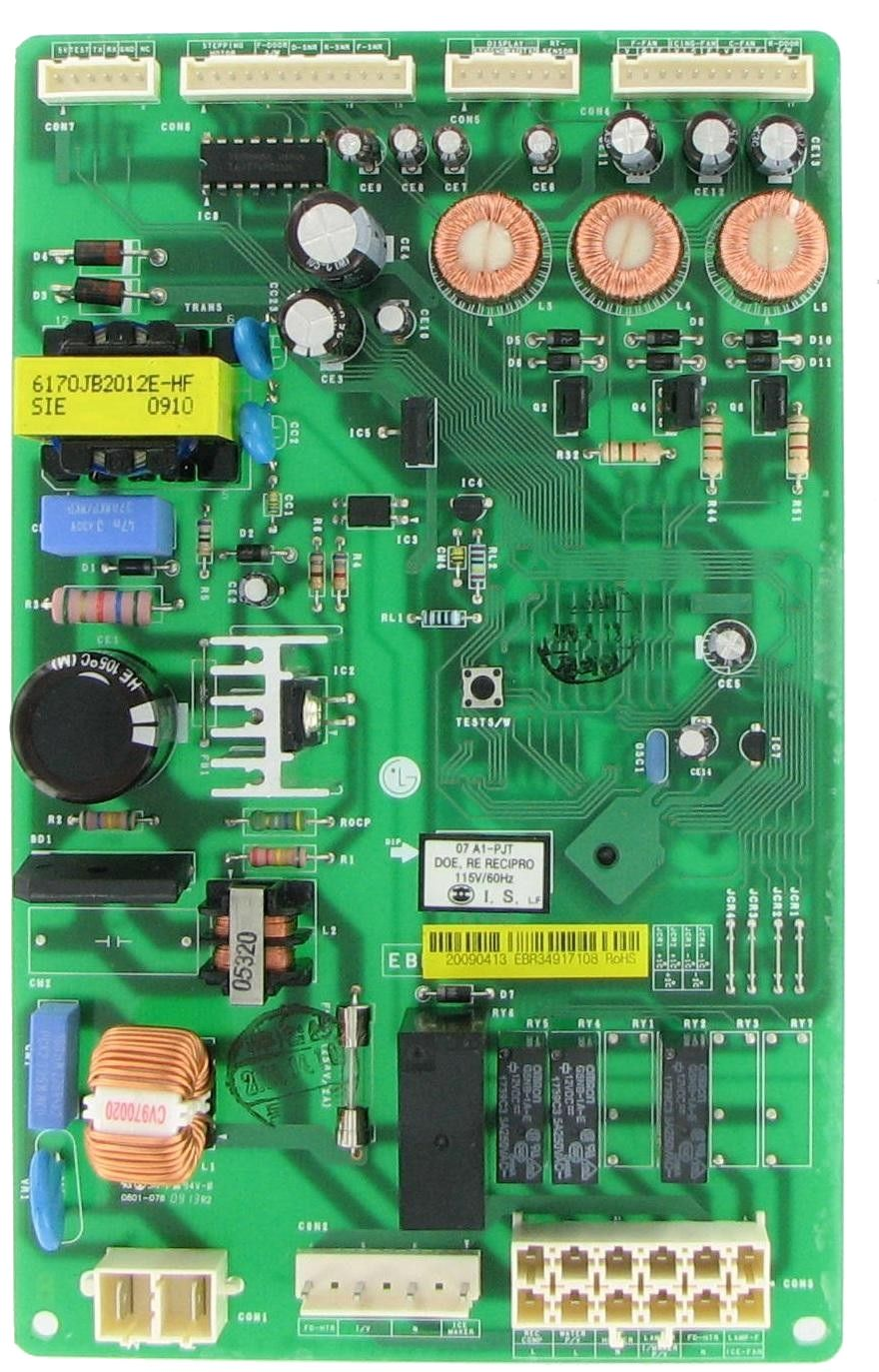#LG #EBR34917108 Refrigeration Electronic Control Board