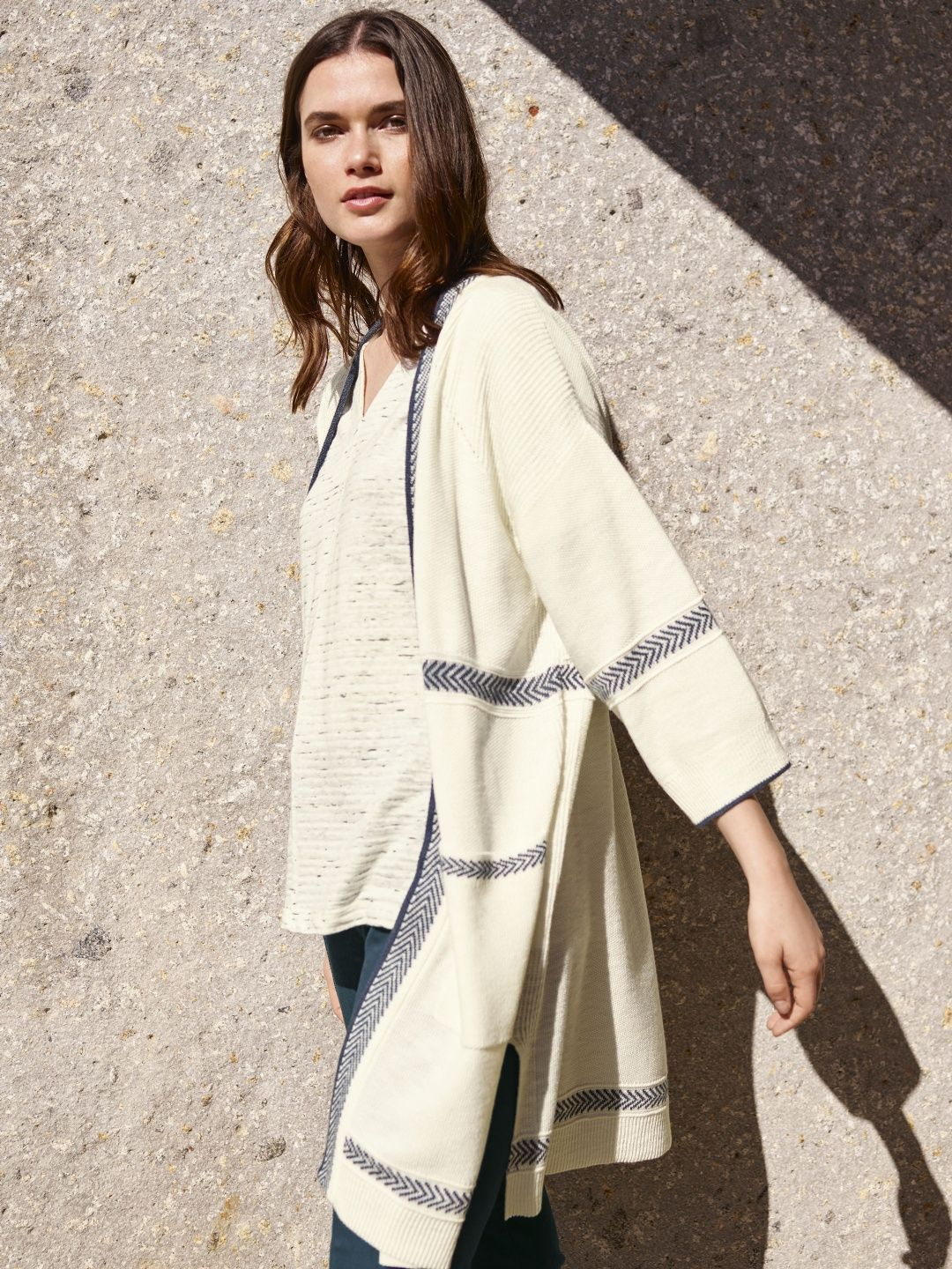 A longline cardigan is the ideal summer time cover-up. Our ...