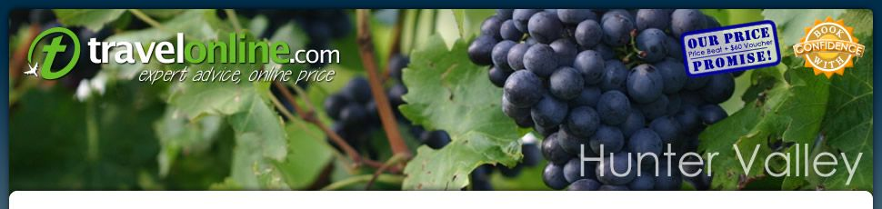 Hunter Valley, NSW; wineries & vineyards
