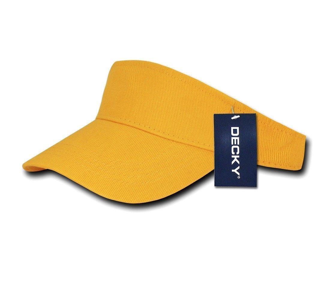 162d818a94eddc Decky Sports Spring Summer Sun Visors Caps Hats Cotton Beach Golf Unisex