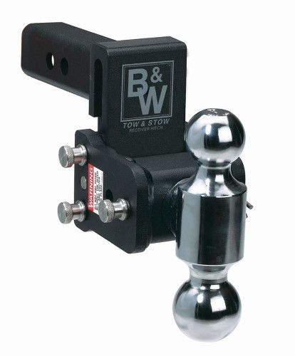 B W Ts10033c Trailer Hitch Ball Mount Class Iv Fits 2 Receiver