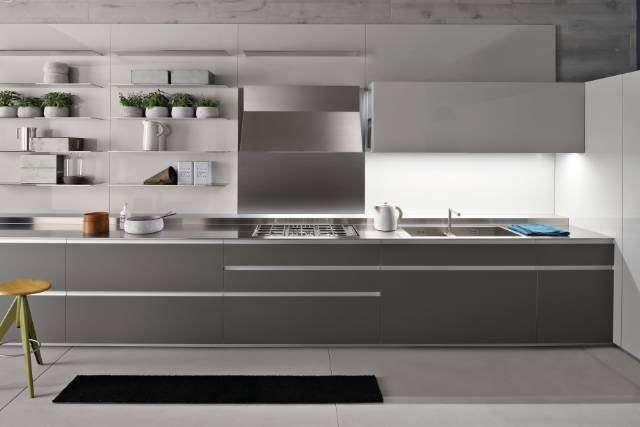 Cucine Ernestomeda - Cucina grigia | Cucina