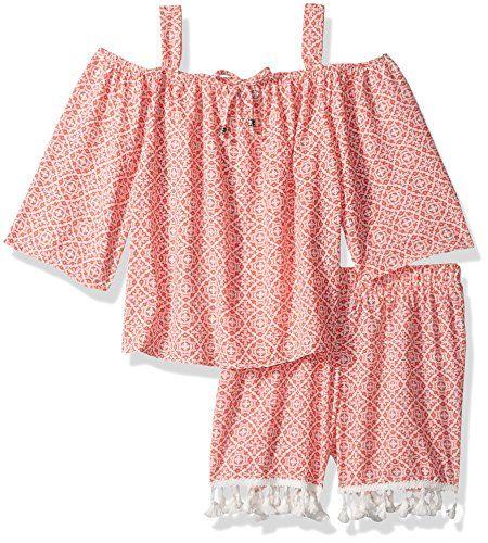 Mud Kingdom Little Girls Short Outfits Cute Strawberry