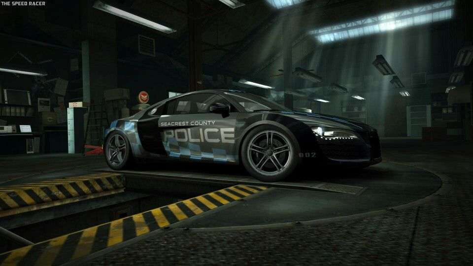 Audi R Seacrest Police Edition Game Need For Speed World - Audi car games audi r8