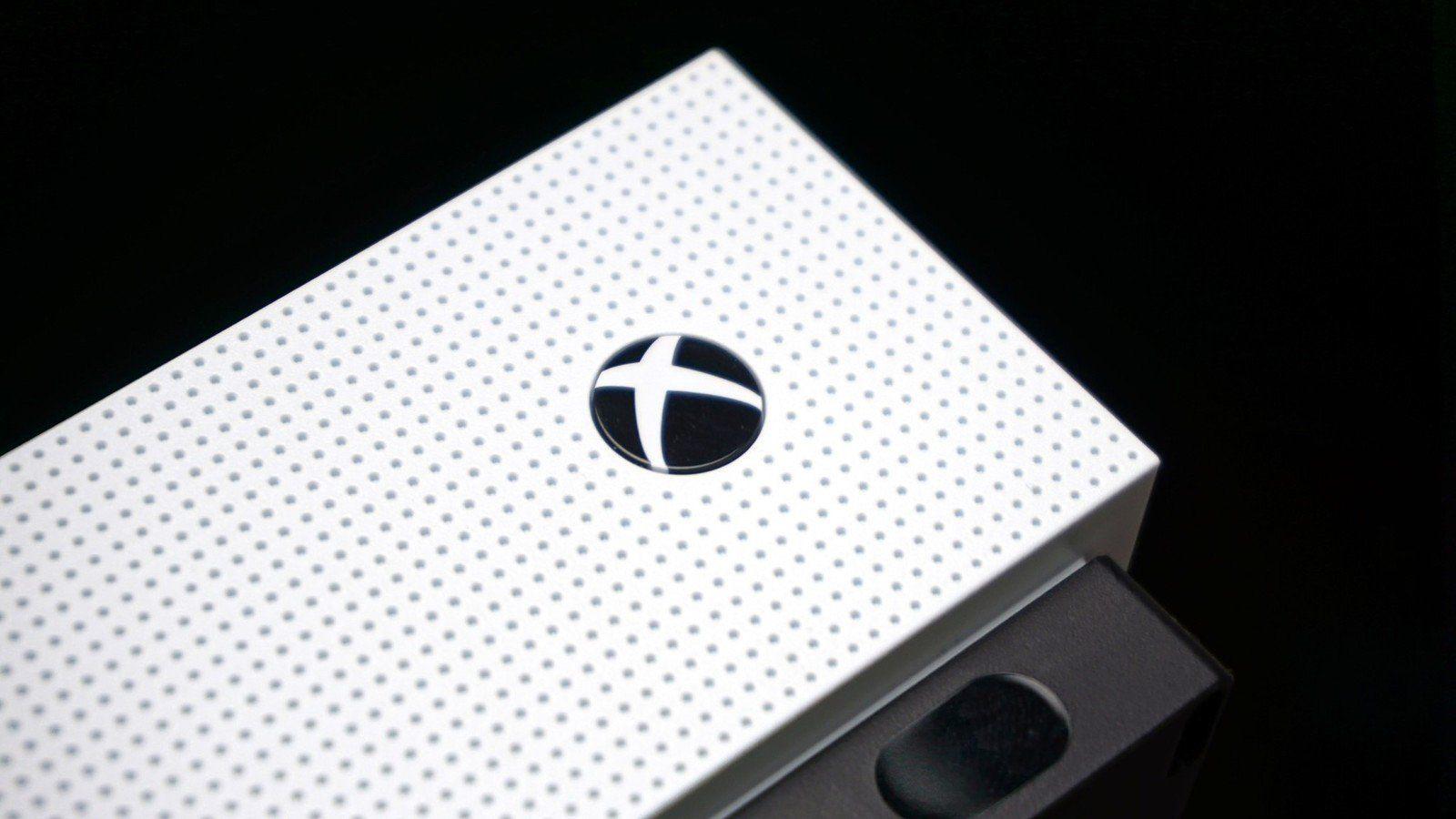White Xbox Logo Black Background