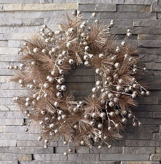 want this for my front door this christmas crate barrel holiday decor - Crate And Barrel Christmas Decorations