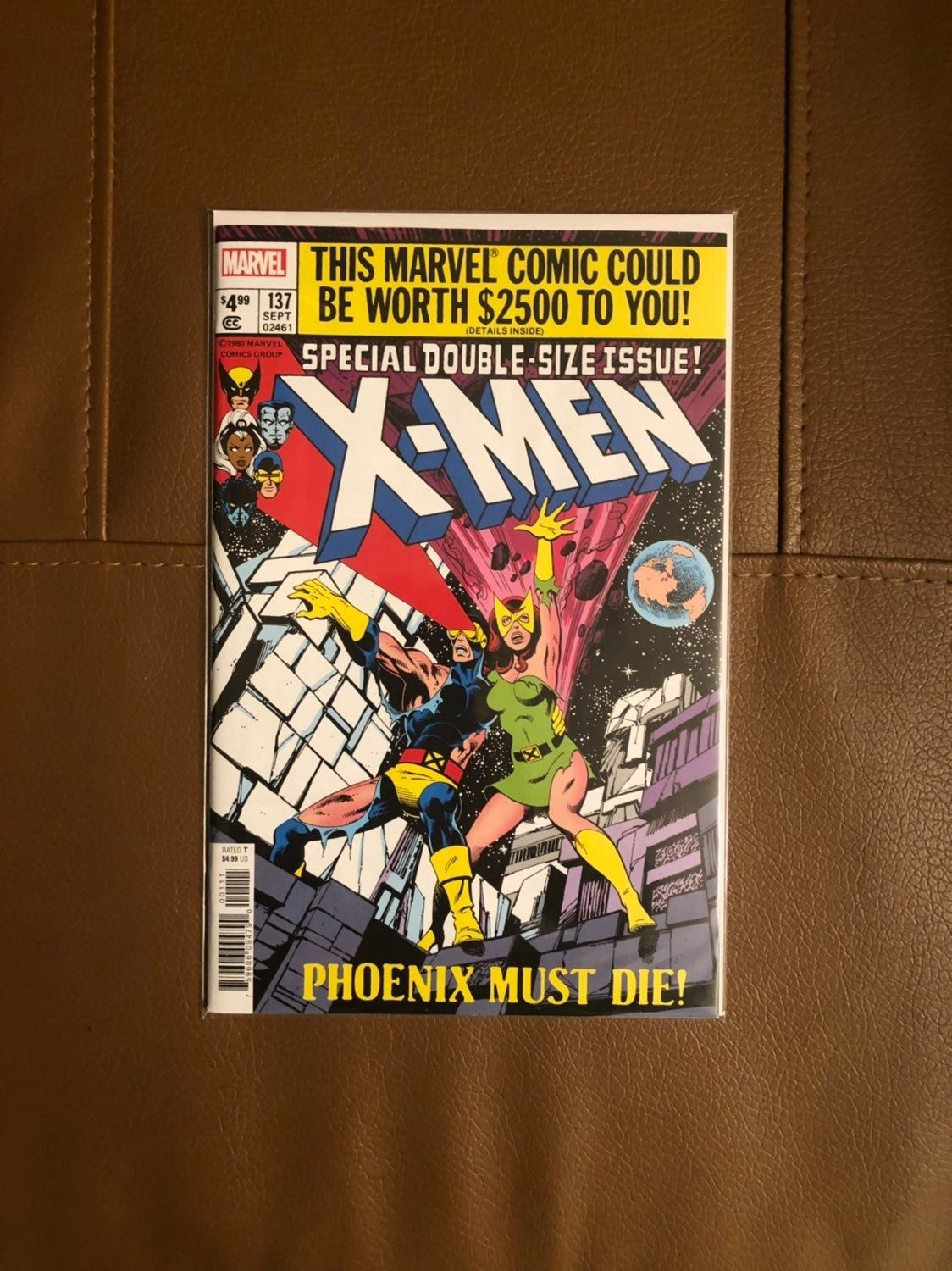 Uncanny X Men 137 Facsimile Edition Classic Phoenix Story And Cover Nm Unread Sold Out High Grade But Please Check Photos Yours X Men Comics Marvel Comics