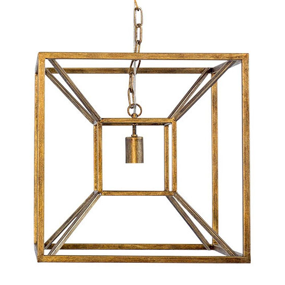 Candelabra Home Briar Pendant - Gold