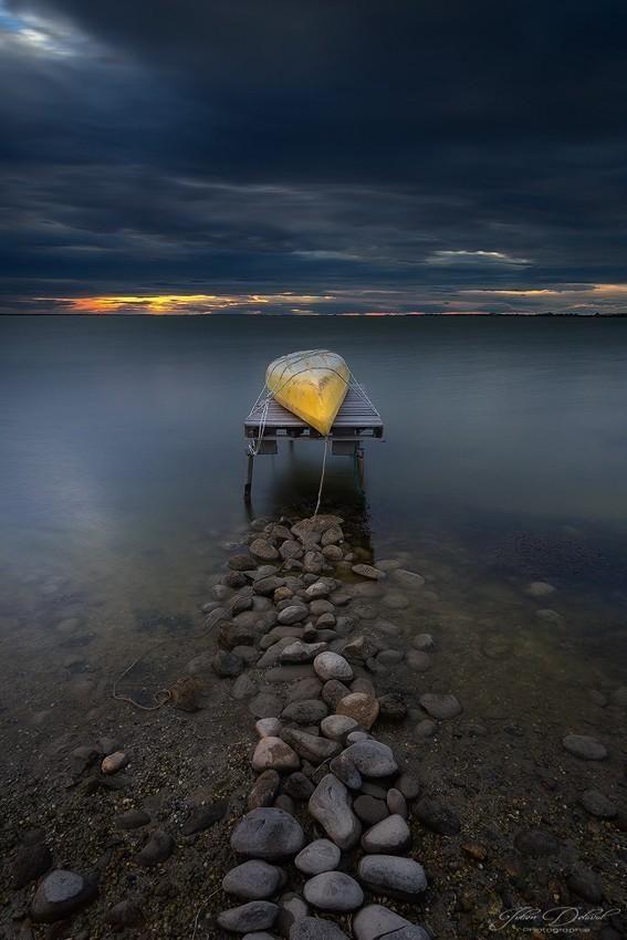 El amanecer de la canoa
