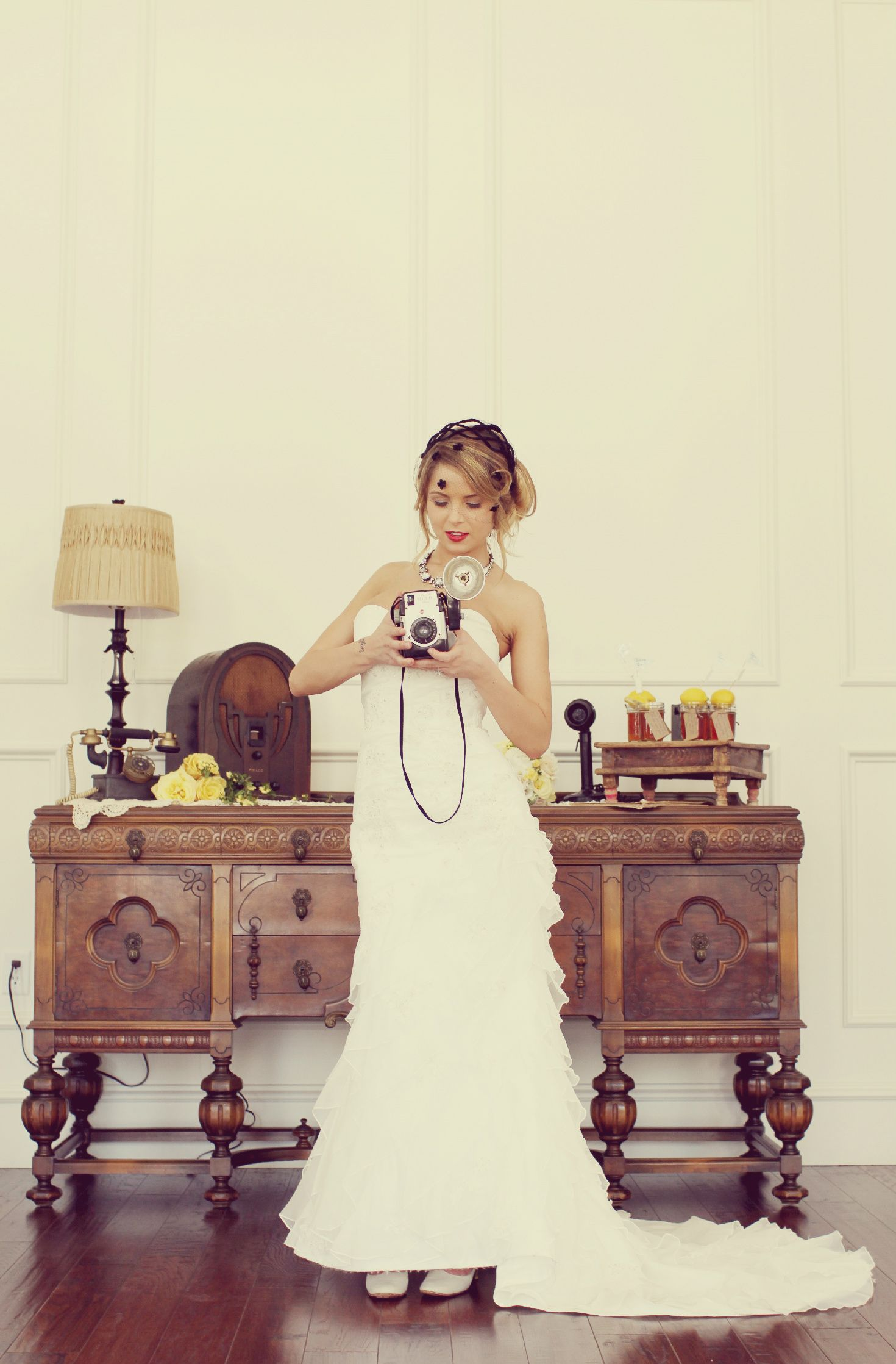 Where can i rent a wedding dress  Vintage Bride Forbidden Love  World War  Themed Styled Shoot