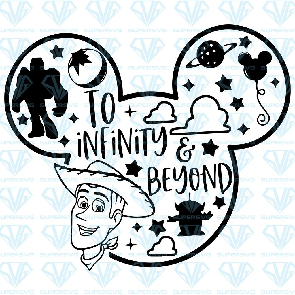 Download To infinity and beyond SVG Files For Silhouette, Files For ...