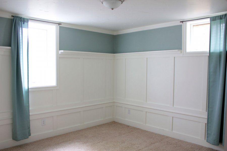 Long Curtains Over Short Basement Windows To Make Them Look Bigger