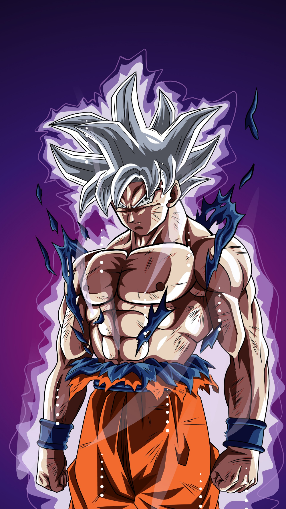 Artstation Son Goku Mastered Ultra Instinct Still Alive Artworks Anime Dragon Ball Goku Dragon Ball Super Artwork Anime Dragon Ball Super