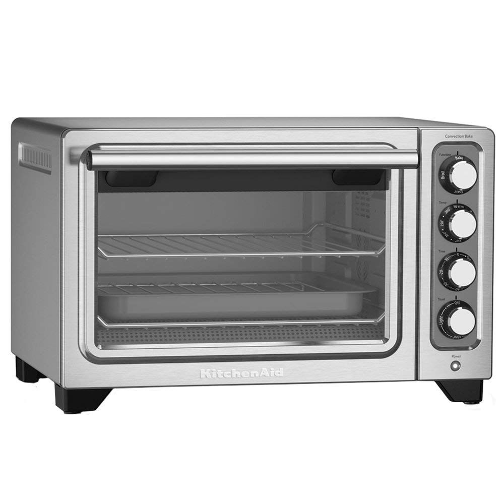 Kitchenaid Rkco253ss 12 Inch Counter Top Oven Stainless Steel Renewed Learn More By Visiting The Image L In 2020 Toaster Oven Reviews Toaster Oven Compact Oven