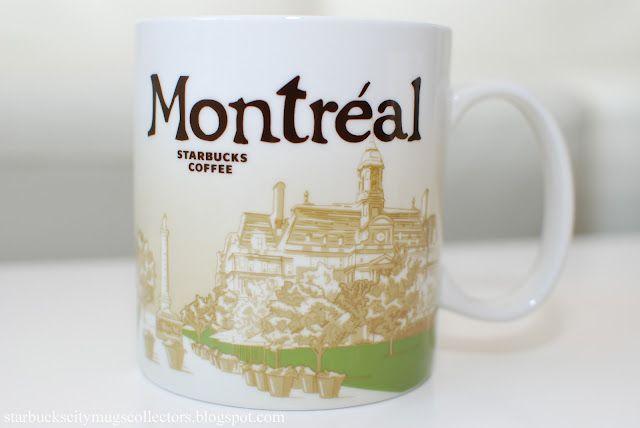 Canada Global Icons Starbucks City Mugs Mugs Starbucks Mugs