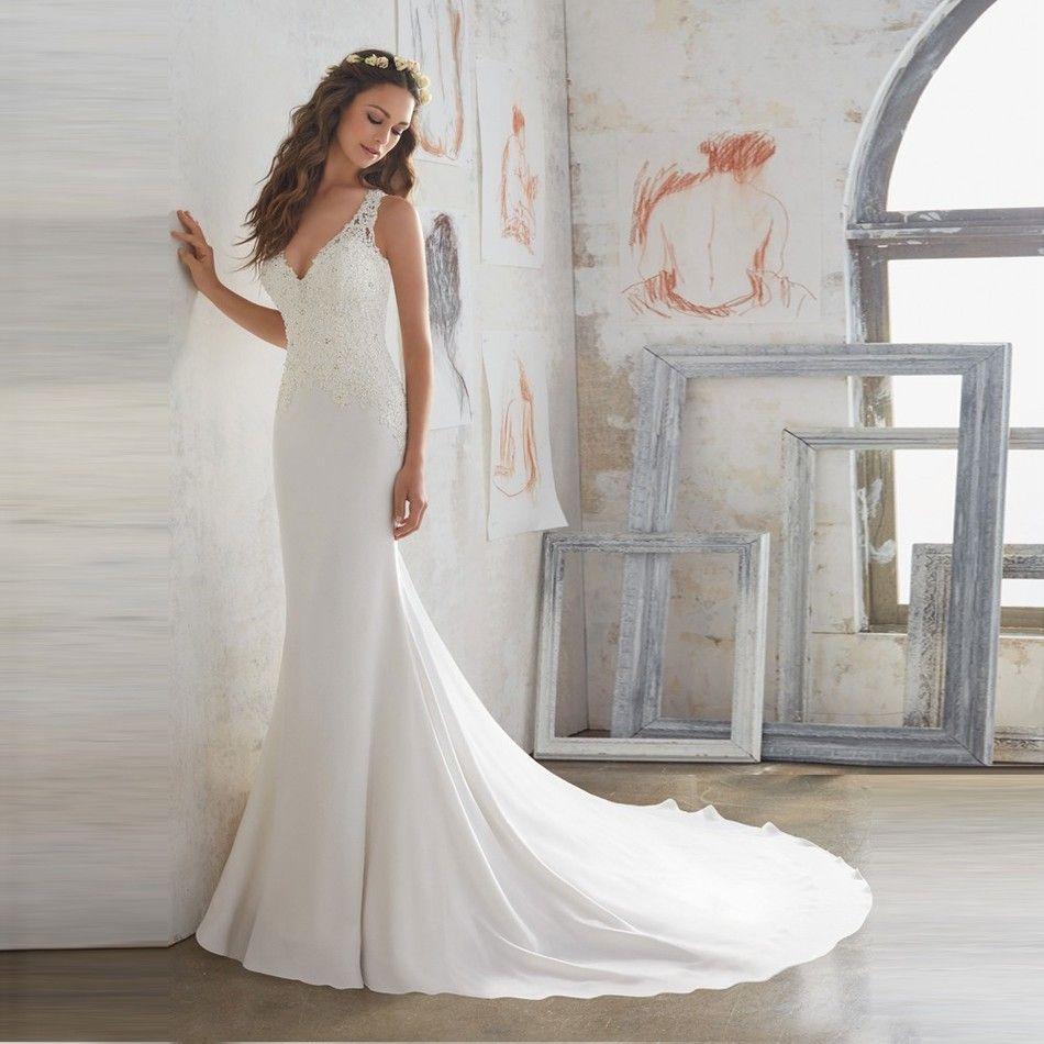 Click to buy ucuc robe de mariage new v neck bridal gown with
