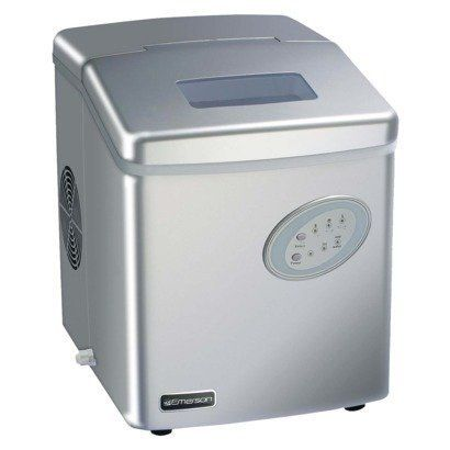 Emerson Portable Ice Maker 025806033243 Includes Ice Basket Ice Scoop Owner S Manual Water Source Reservoir Saf Portable Ice Maker Ice Maker Ice Storage