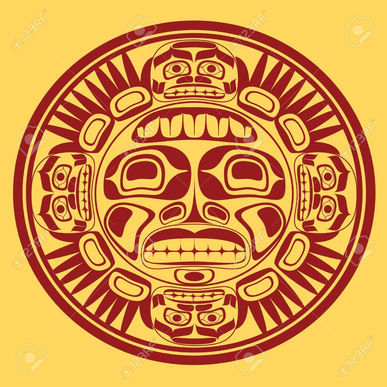nw native sun symbol 16803704 sun symbol stylization of northwest art art native. Black Bedroom Furniture Sets. Home Design Ideas