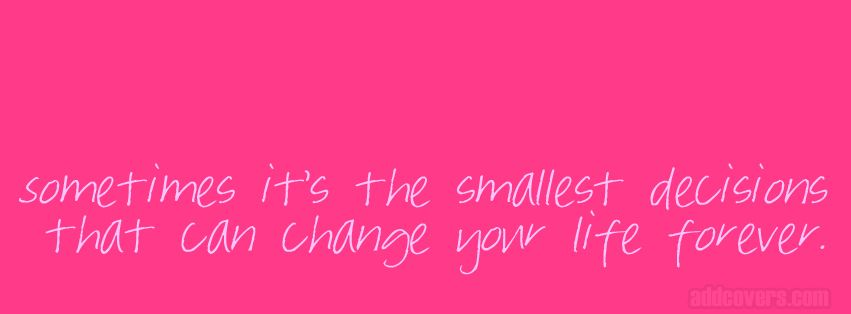 Pink Quotes Pink Life Quote Facebook Covers For Your Fb Timeline