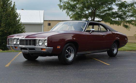 1971 Mercury Montego MX Coupe