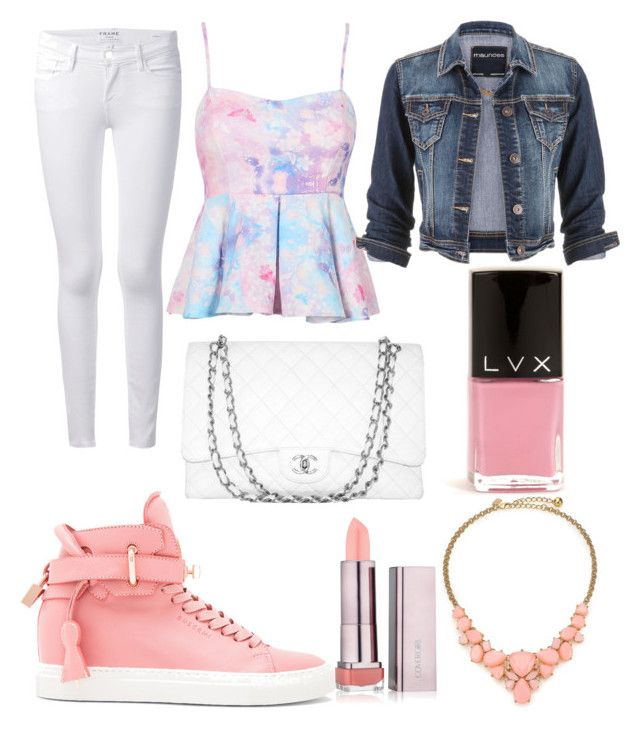 """""""princess"""" by isabellaobrien14 ❤ liked on Polyvore featuring BUSCEMI, Frame, maurices, Chanel, LVX and Kate Spade"""