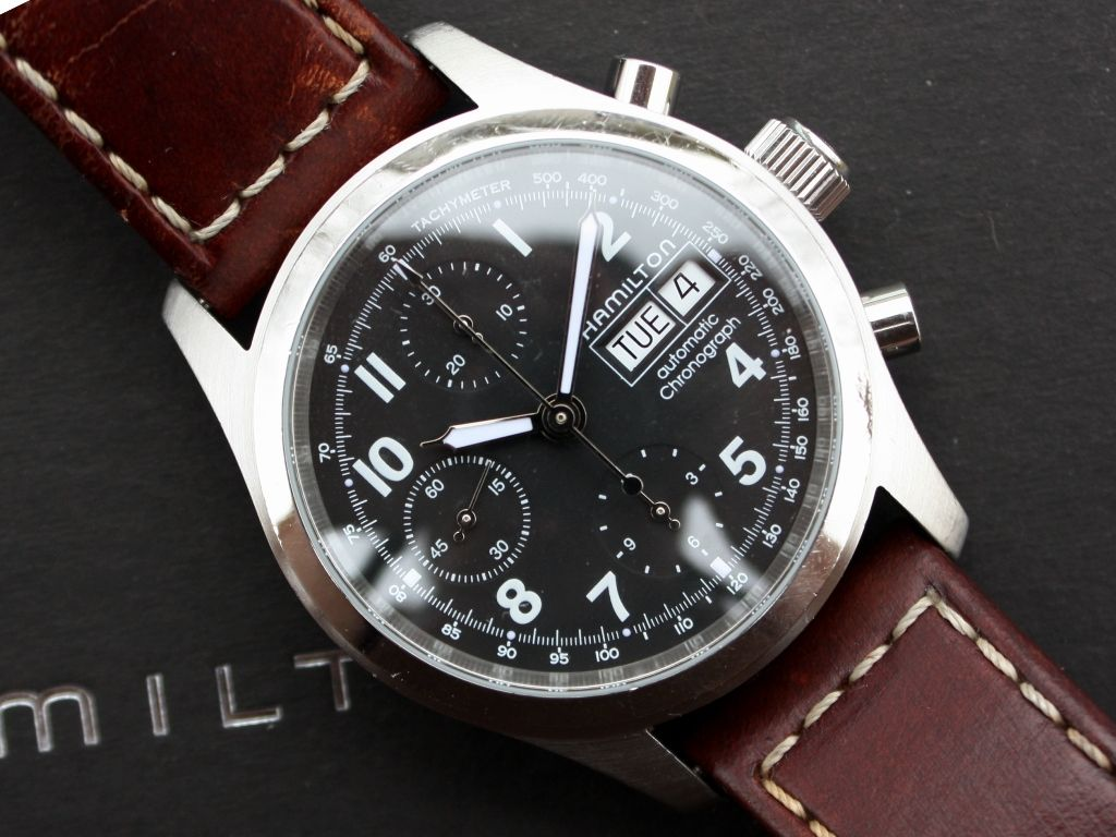a76c200f7 FS: Hamilton Khaki Field Chronograph Automatic, 38mm | Watches ...