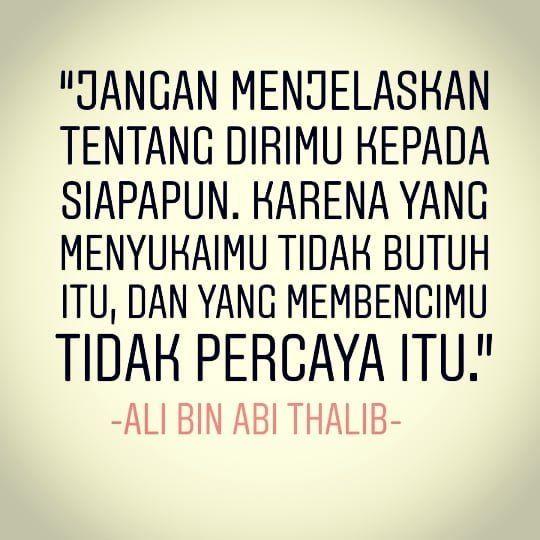 5 Kutipan Ali Bin Abi Thalib Yang Sejuk Dan Menenangkan Jiwa Hati