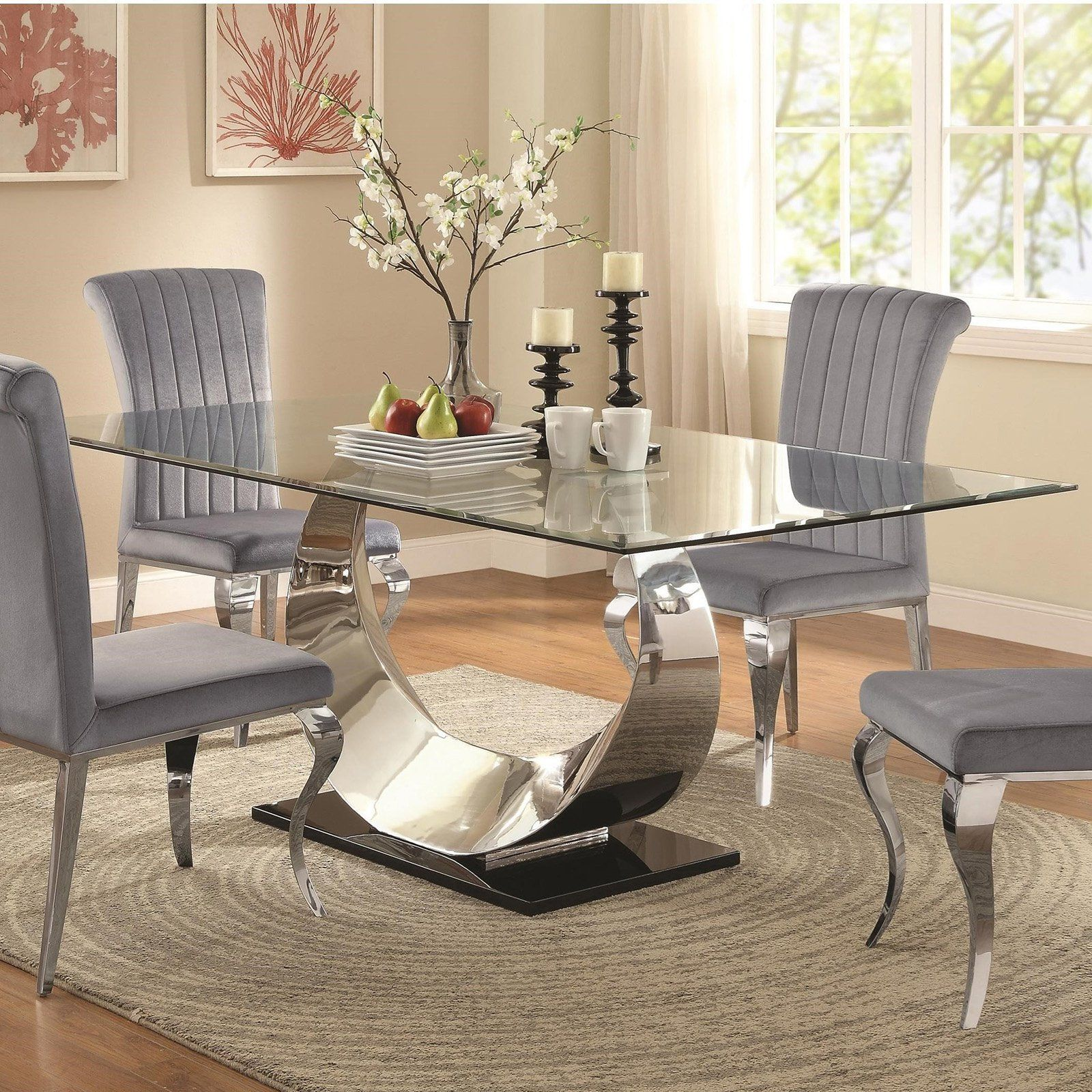 Coaster Furniture Manessier Dining Table - 107051 | Products ...