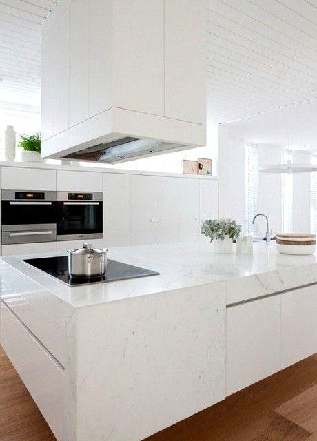 cocina blanca moderna - Buscar con Google Kitchen Ideas